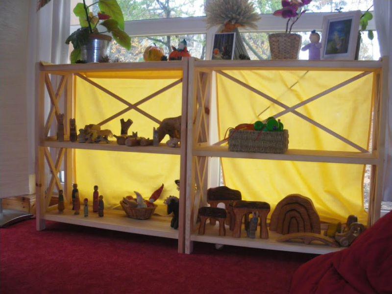 Raumgestaltung des waldorfkindergartens rostock for Raumgestaltung in der krippe