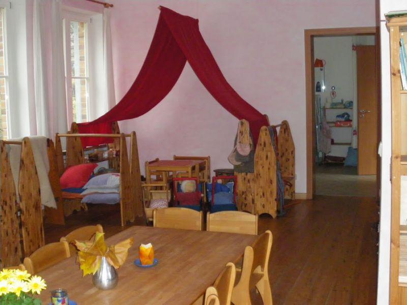 Raumgestaltung des waldorfkindergartens rostock for Raumgestaltung waldorfkindergarten